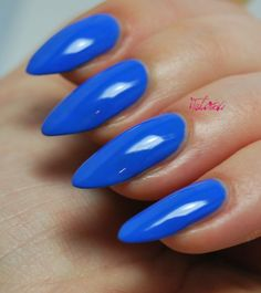 Attention to the semi-permanent varnish - My Nails Gel Nail Varnish, Nail Polish, Blue Nails, My Nails, Nail Manicure, Manicure Ideas, Manicures, Summery Nails, Free Makeup