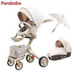 b40ab480a R$ 2084.46 |Parabebe 15 kg Grande Do Pram Do Bebê Do Carrinho De Bebê De  Luxo Dourada Carrinhos Para Crianças Carrinho de Bebê carrinho de Bebê de  Carro Do ...