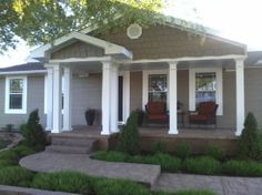 Pretty much identical to the porch we are building except the long side is to the left not right