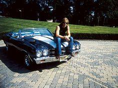 Jon Bon Jovi on his 1970 Chevelle (pinned from superchevy.com)