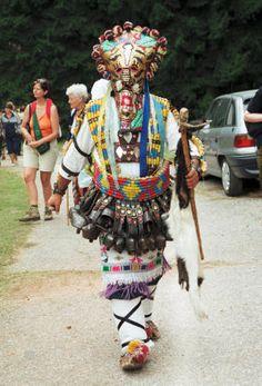 Slavic mythological folk-masks - 9 page views remaining today