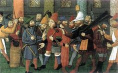 Wizards & Workers of Different Professions. XV Century
