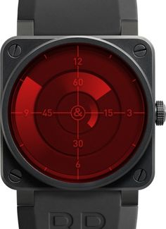 Bell & Ross Red Radar