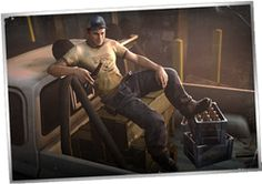 The biography of Ellis from the video game Left 4 Dead 2. He is my most favorite! (luv him)