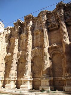 Baalbek, Beirut Lebanon, Photos Voyages, Bacchus, Stone Work, Far Away, Monuments, Archaeology, Places To See