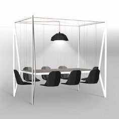 Swing table - Cool Examples Of Innovative Furniture Design Cool Furniture, Modern Furniture, Furniture Design, Dream Furniture, Furniture Removal, Dining Furniture, Office Furniture, Bedroom Furniture, Furniture Sets
