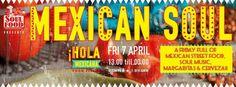 """Πώς μπορεί να συνδυαστεί ο Gil Scott-Heron με ένα burrito τυλιγμένο καλά ?  """"SoulFood Thessaloniki: Mexican Soul"""" Παρασκευή 7 Απριλίου Κούσκουρα 6"""