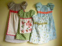 little girl dress patterns - Google Search