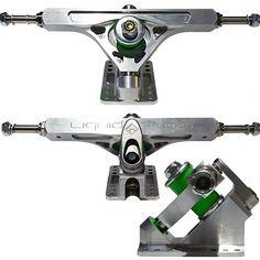 Liquid Fyre CNC Precision 180mm Longboard Trucks - Basement Skate