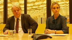 Philip Seymour Hoffman and Nina Hoss - A Most Wanted Man (2014), dir. by Anton Corbijn