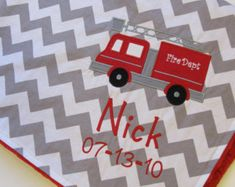 fire truck baby bedding - Google Search