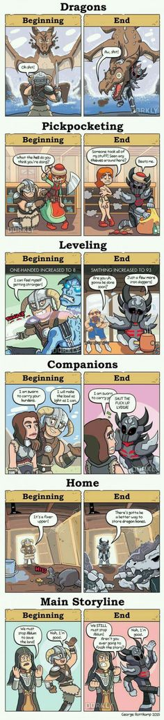 Skyrim: Beginning and End