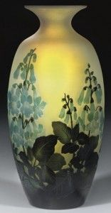 Galle Vase with Paulownia Design