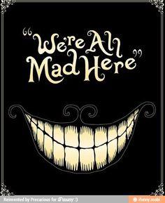 Cheshire Cat from Disney's Alice In Wonderland