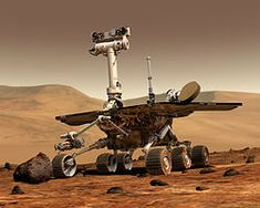 Spirit, Mars exploration rover 2004-2010 (NASA stopped trying to attempt contact May 2011). Hail to Spirit; the Mars Rover: Trapped in the Sands of Mars
