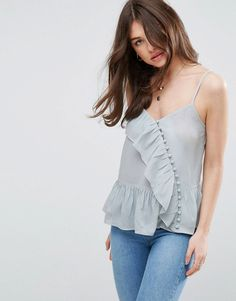 Discover new clothes and latest trends in women's clothing at ASOS. Shop the newest women's clothes, dresses, tops, skirts and more. Order now at ASOS. New Outfits, Spring Outfits, Fashion Outfits, Fashion Idol, Blouse And Skirt, Short Tops, Latest Fashion Clothes, Fashion Online, Online Shopping Clothes
