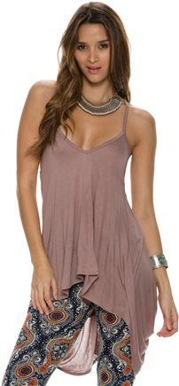 SWELL THROWBACK BACK DETAIL TANK. http://www.swell.com/New-Arrivals-Womens