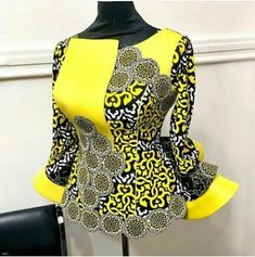 African Dresses For Kids, African Prom Dresses, Latest African Fashion Dresses, African Print Fashion, Africa Fashion, Ankara Dress Designs, African Blouses, African Attire, Nevada