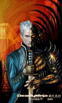 ...:Vergil-Sparda:... by DeadlyNinja.deviantart.com on @deviantART