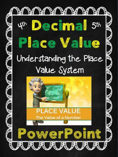 Decimal Place Value PowerPoint Presentation.  Teaches Place Value, Comparing Numbers, Expanded Form, & The Value of a Digit.  100% Editable!  $