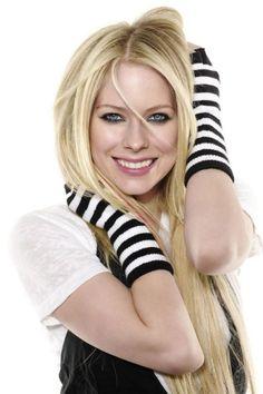 Avril Lavigne Long Blonde Extentions