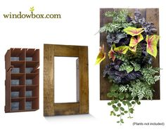 how to build an indoor vertical herb garden - Google Search