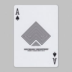 Mechanics, vr2 Playing Cards #aceofspades