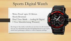 This smart watch can be paired up with almost all outfits. Team it up with any ethnic wear and be a trend setter.