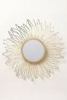 Anthropologie: Queen Anne's Lace Mirror