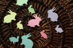 Hey, I found this really awesome Etsy listing at https://www.etsy.com/listing/95412759/200-bunny-confetti-customize-on-any