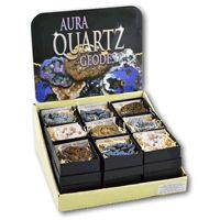 PK235 Aura Quartz Geode Pack