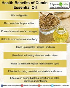 Health Benefits of Cumin Essential Oil