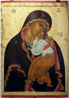Catholic Art, Byzantine, Madonna, Christian, Angels, Painting, God, Icons, Dios