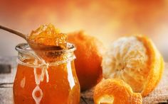 Vegan recipe for orange marmalade. Fruit Orange, Orange Jam, Orange Peel, Orange Drinks, Gin Recipes, Dessert Recipes, Chutney, Seville Orange Marmalade, Easy Treats To Make