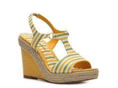 Ann Marino Jackel Wedge Sandal