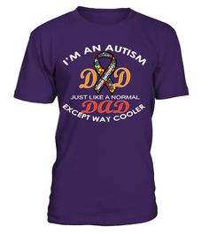 I'M AN AUTISM DAD_LIMITED EDITION  #gift #idea #shirt #image #animal #pet #dog #bestgift #cat #bichon #coffemugs #autism