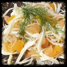 My mom used to make this salad delicious and Fresh!! Love it.. Fennel onion and citric fruits ... by solemiohealthycuisine