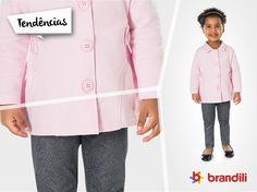 Moda infantil 2015: tendência do Efeito Metalizado #lookbrandili