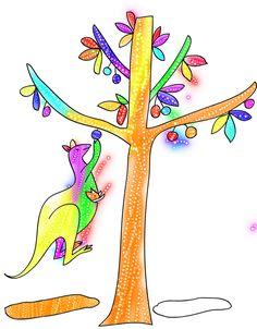 Enjoy Kids Coloring Doodle :)