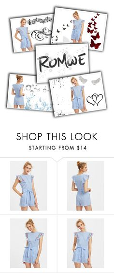 """""""#Romwe"""" by emona22 ❤ liked on Polyvore featuring Disney"""