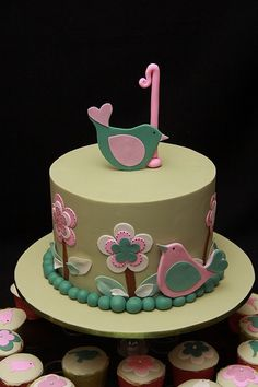 girls birthday cake - | http://deliciouscakecollections.blogspot.com