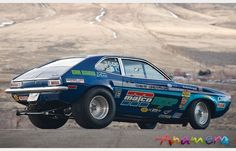"ford pinto race cars | 1974 Ford ""Ohio George"" Pinto Turbocharged Drag Racing Car"