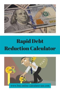 Enter your debts and i'll create a debt payoff plan using the rollover method, calculate your savings and create your rapid debt reduction plan! #debt #finance #budget #calculator Saving Money Quotes, Best Money Saving Tips, Money Tips, Build Credit, Credit Score, Financial Success, Financial Planning, Money Plan