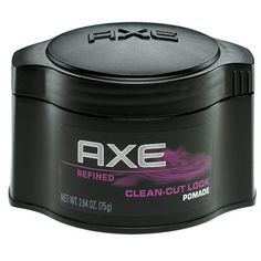 I'm learning all about AXE Clean-Cut Look Pomade at @Influenster!
