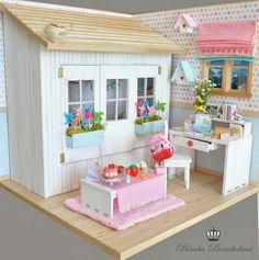 "BIMBA BAMBOLINA doll photostream on flickr   OOAK Diorama ""For LaViri- UK"" Scale dolls 1:6 Blythe, Pullip, Momoko ..."