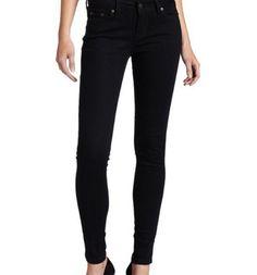 Levi´s 535 Skinny Damen Legging Jeans Schwarz