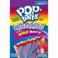 Kellogg's Pop Tarts NEW Wildlicious Frosted Wild! Berry 16 Count: NEW Wildlicious Wild! Yummy Snacks, Yummy Treats, Pop Tart Flavors, Balanced Breakfast, Breakfast Kids, Breakfast Snacks, Strawberry Milkshake, After School Snacks, Pop Tarts