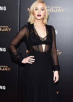 Jennifer Lawrence – 'The Hunger Games: Mockingjay, Part 2' Screening in New York