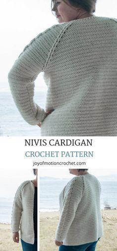 Nivis Cardigan Croch