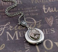 $27 Steampunk locket